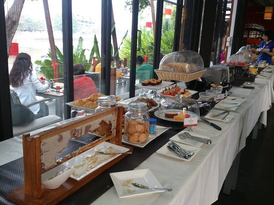 RarinJinda Wellness Spa Resort:                   breakfast