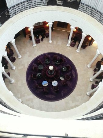 The Pearl Marrakech:                   Panaromic view of lobby.