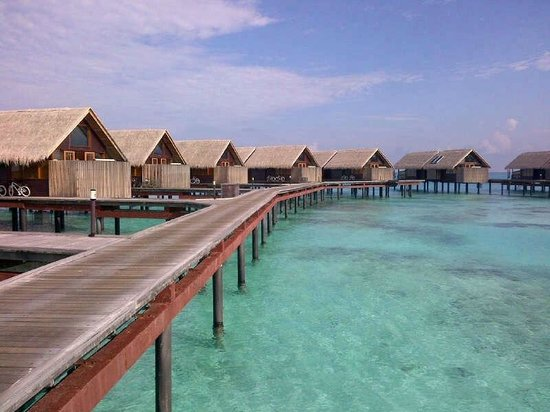 Shangri-La's Villingili Resort and Spa Maldives:                   Shangri La Villingili Water Villas
