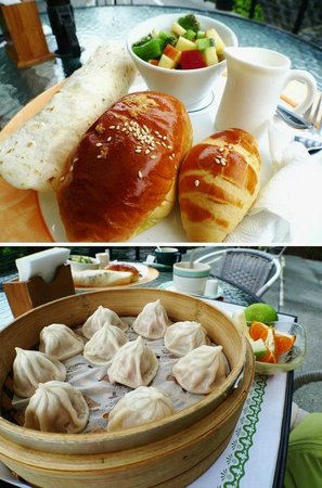Spring Spa Hotel Wulai :                   western and chinese breakfast. both are good