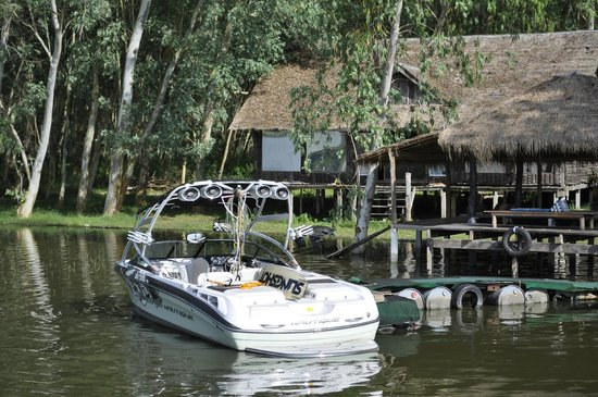 Wakeboarding Thailand Camp:                   Катер