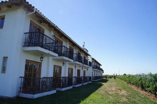 Hotel TerraVina:                   ホテルの外観
