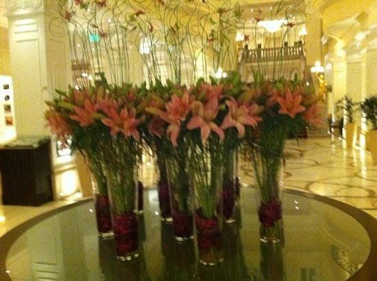 Corinthia Hotel Budapest:                   beautiful lobby