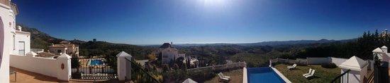 Casa Suenos Luxe Bed & Breakfast:                   Panorama vanaf het terras