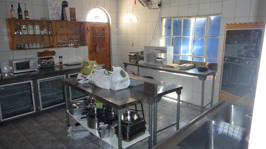 Lavender Hills Guest Farm:                                     Industrial kitchen with everything...