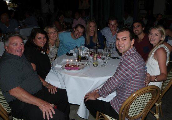 Cibo:                                     Family birthday photo