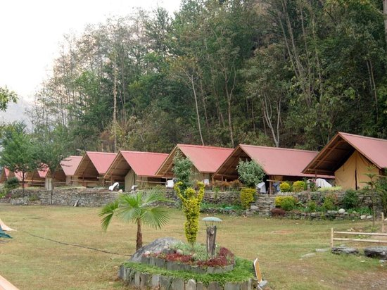 Gati, Nepal: Safari Tents