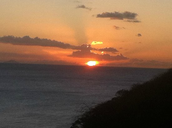 Galley Bay Resort & Spa - All Inclusive :                                     Sunset at Gallery Bay.