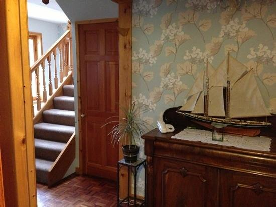 Westayre Bed and Breakfast:                                                       The Hallway