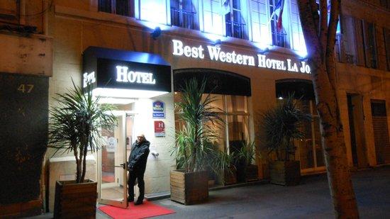 BEST WESTERN La Joliette :                   Ingresso dell'hotel