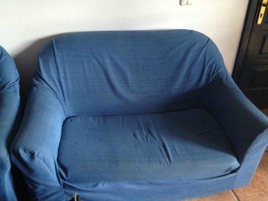 Mansion Nazaret:                                     The sofa