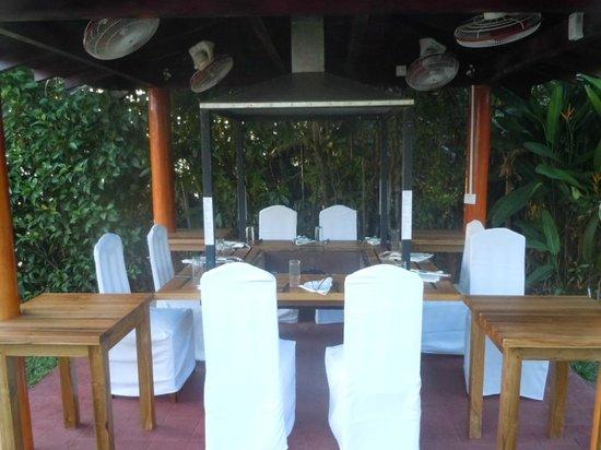 Dalmanuta Gardens - Ayurvedic Resort & Restaurant: BBQ Hut