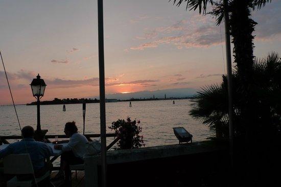 Villa Laguna:                   Sonnenuntergang