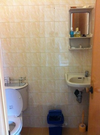Sulu-Plaza Beach Hotel :                   salle de bain
