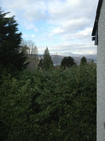 Cedar Manor Hotel and Restaurant:                   Coniston room view