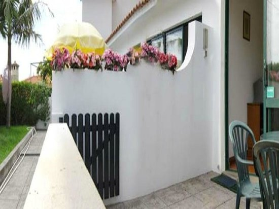 Vilas Maria: Outside private patio
