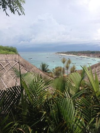 Batu Karang Lembongan Resort & Day Spa:                   view from our room
