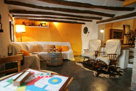 Ca La Laia: Sala de estar