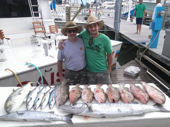 Daisy Mae Fishing Charters:                   Great day on the water!