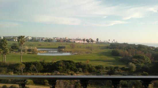 Melia Sancti Petri:                   campo de golf