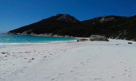 Albany, Austrália:                   Little Beach, Two Peoples Bay