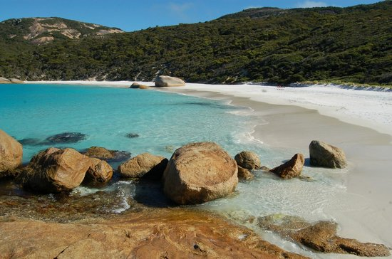 Albany, Australië:                   Little Beach, Two Peoples Bay