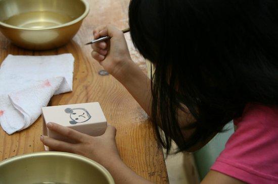 Senbonmatsu Ranch :                   絵を描くだけですが、記念になりました