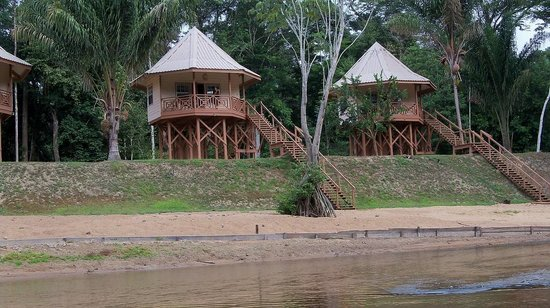 Kabalebo Nature Resort:                   Caban river cabin