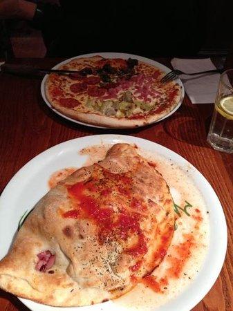 Bella Italia Shaftesbury Avenue :                   pizza