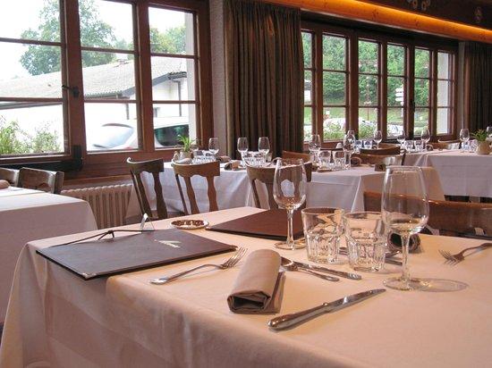 L'Echo des Montagnes: Le Restaurant