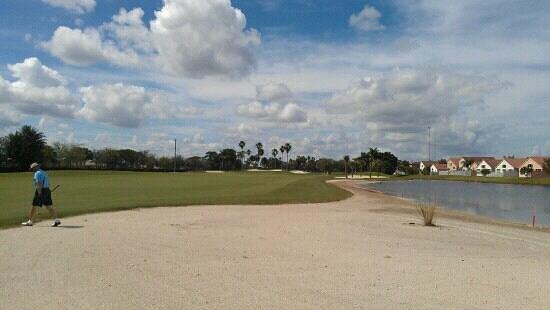 Atlantic National Golf Course:                   Good luck on this dogleg!