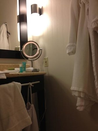 W New York - Union Square:                   clean and modern bathrooms, consistent with W branding