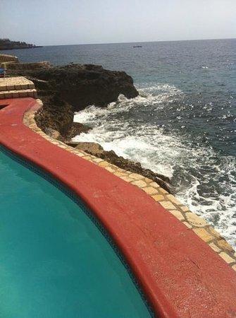 Rockhouse Hotel:                   pool side