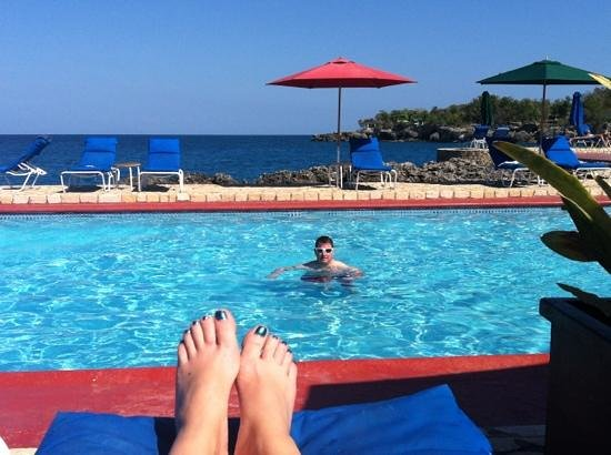 Rockhouse Hotel:                   pool view