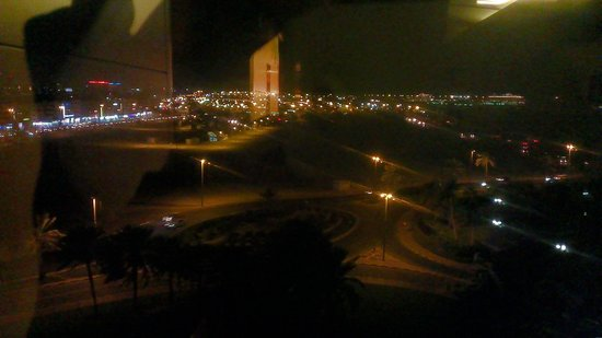 Hyatt Regency Dubai:                   View from the room