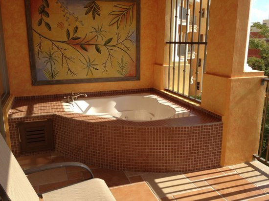 The Royal Haciendas All Suites Resort & Spa:                   Private jacuzzi