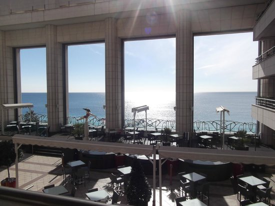 Hyatt Regency Nice Palais de la Mediterranee:                   Great view