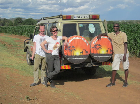 One of our safaris jeep - Bright African safaris