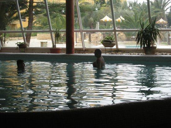 Chich Khan:                   indoor pool, not great.