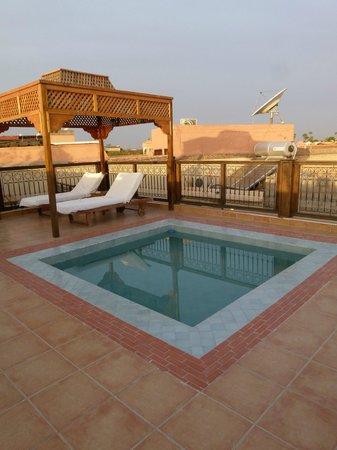 Riad BB Marrakech:                   dakterras