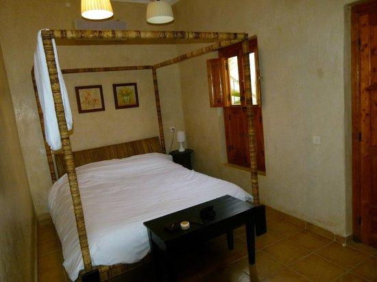 Riad BB Marrakech:                   Kamer op bovenverdieping