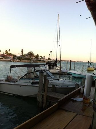 The Wharf :                   sea view