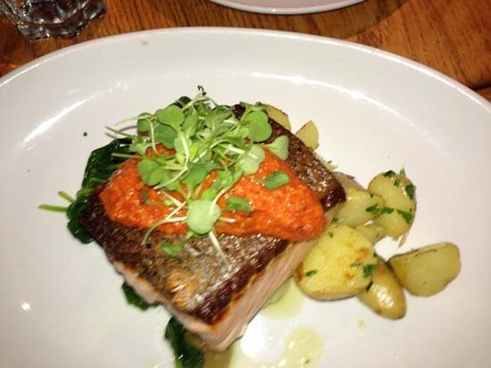 Ajax Tavern :                   salmon