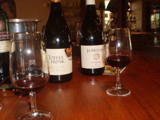 eat@simonsvlei restaurant :                   Tasting wines