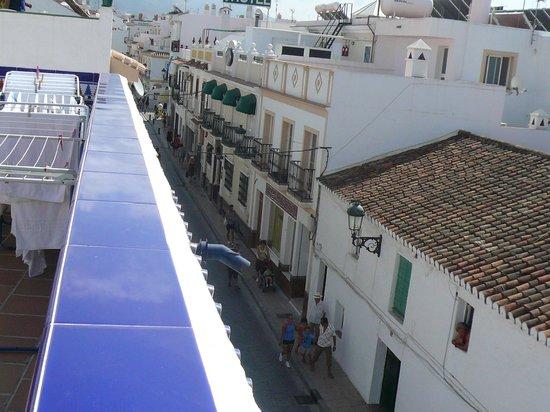 Pepe Mesa:                   vista desde la terraza