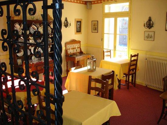 La Fontaine: Dining room