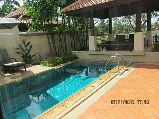 Outrigger Laguna Phuket Resort & Villas:                   our villa pool
