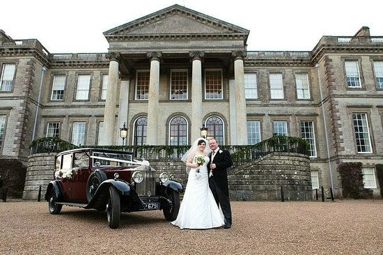 Ragley Hall, Park and Gardens:                   Son's wedding  reception at Ragley Hall.
