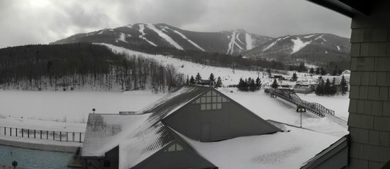 Killington Grand Resort Hotel:                   view from the 3rd floor