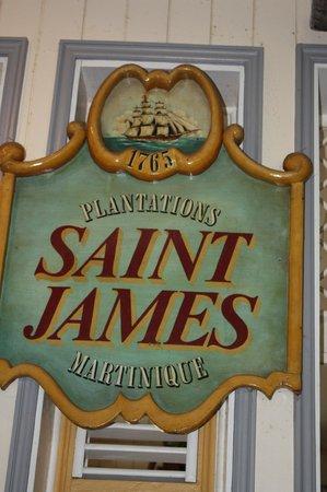 St. James Distillery & Rum Museum: Entrée